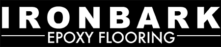 Ironbark Epoxy Flooring Mobile Retina Logo